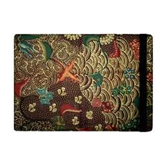 Art Traditional Flower  Batik Pattern Apple Ipad Mini Flip Case by BangZart
