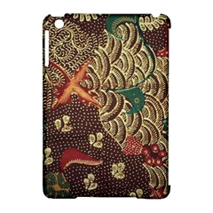 Art Traditional Flower  Batik Pattern Apple Ipad Mini Hardshell Case (compatible With Smart Cover) by BangZart
