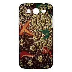Art Traditional Flower  Batik Pattern Samsung Galaxy Mega 5 8 I9152 Hardshell Case  by BangZart