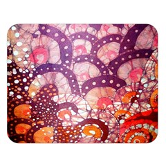 Colorful Art Traditional Batik Pattern Double Sided Flano Blanket (large)  by BangZart