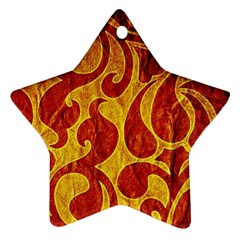 Abstract Pattern Star Ornament (two Sides) by BangZart