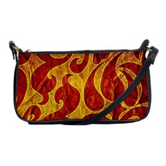 Abstract Pattern Shoulder Clutch Bags by BangZart