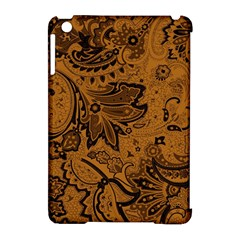 Art Traditional Batik Flower Pattern Apple Ipad Mini Hardshell Case (compatible With Smart Cover) by BangZart