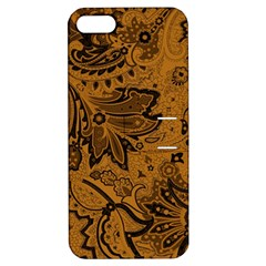 Art Traditional Batik Flower Pattern Apple Iphone 5 Hardshell Case With Stand by BangZart