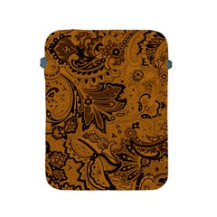 Art Traditional Batik Flower Pattern Apple Ipad 2/3/4 Protective Soft Cases by BangZart