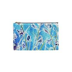 Art Batik Flowers Pattern Cosmetic Bag (small)  by BangZart