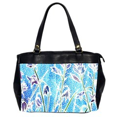 Art Batik Flowers Pattern Office Handbags (2 Sides)  by BangZart
