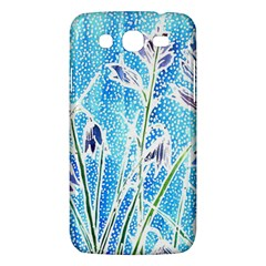 Art Batik Flowers Pattern Samsung Galaxy Mega 5 8 I9152 Hardshell Case  by BangZart