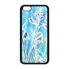 Art Batik Flowers Pattern Apple Iphone 5c Seamless Case (black) by BangZart