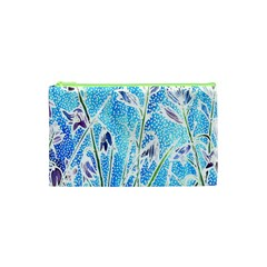 Art Batik Flowers Pattern Cosmetic Bag (xs) by BangZart