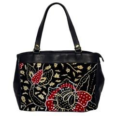 Art Batik Pattern Office Handbags by BangZart