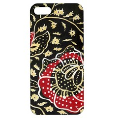 Art Batik Pattern Apple Iphone 5 Hardshell Case With Stand by BangZart
