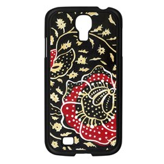 Art Batik Pattern Samsung Galaxy S4 I9500/ I9505 Case (black) by BangZart