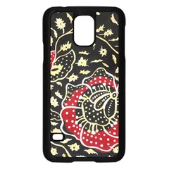 Art Batik Pattern Samsung Galaxy S5 Case (black) by BangZart