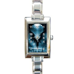 Rising Angel Fantasy Rectangle Italian Charm Watch by BangZart