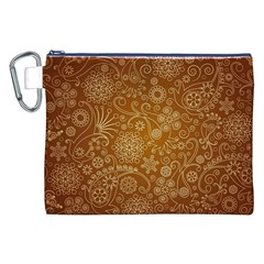 Batik Art Pattern Canvas Cosmetic Bag (xxl) by BangZart