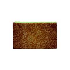 Batik Art Pattern Cosmetic Bag (xs) by BangZart