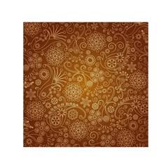 Batik Art Pattern Small Satin Scarf (square) by BangZart