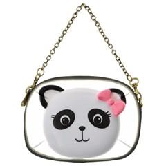 Pretty Cute Panda Chain Purses (two Sides)  by BangZart