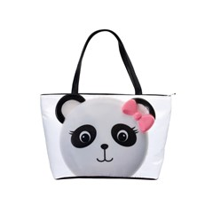 Pretty Cute Panda Shoulder Handbags by BangZart