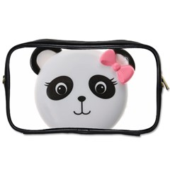 Pretty Cute Panda Toiletries Bags 2 Side by BangZart