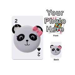 Pretty Cute Panda Playing Cards 54 (mini)  by BangZart