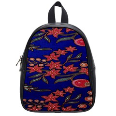 Batik  Fabric School Bags (small)  by BangZart