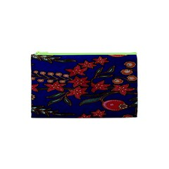 Batik  Fabric Cosmetic Bag (xs) by BangZart