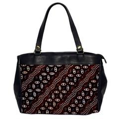 Art Traditional Batik Pattern Office Handbags by BangZart