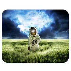 Astronaut Double Sided Flano Blanket (medium)  by BangZart