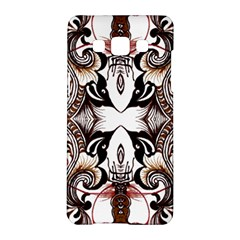 Art Traditional Batik Flower Pattern Samsung Galaxy A5 Hardshell Case  by BangZart