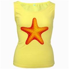 Starfish Women s Yellow Tank Top