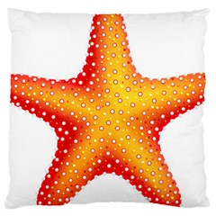 Starfish Large Cushion Case (two Sides) by BangZart