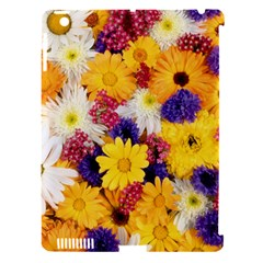 Colorful Flowers Pattern Apple Ipad 3/4 Hardshell Case (compatible With Smart Cover) by BangZart