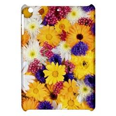 Colorful Flowers Pattern Apple Ipad Mini Hardshell Case by BangZart