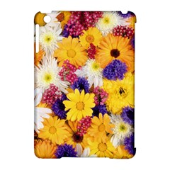 Colorful Flowers Pattern Apple Ipad Mini Hardshell Case (compatible With Smart Cover) by BangZart