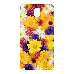 Colorful Flowers Pattern Samsung Galaxy Note 3 N9005 Hardshell Back Case by BangZart