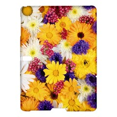 Colorful Flowers Pattern Samsung Galaxy Tab S (10 5 ) Hardshell Case  by BangZart