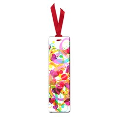 Abstract Colorful Heart Small Book Marks by BangZart