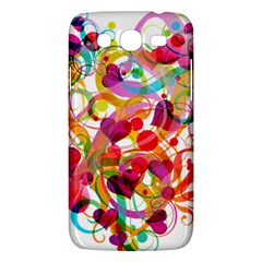 Abstract Colorful Heart Samsung Galaxy Mega 5 8 I9152 Hardshell Case  by BangZart