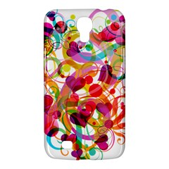 Abstract Colorful Heart Samsung Galaxy Mega 6 3  I9200 Hardshell Case by BangZart