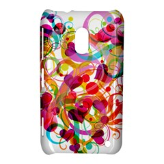 Abstract Colorful Heart Nokia Lumia 620 by BangZart