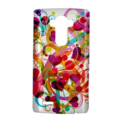 Abstract Colorful Heart Lg G4 Hardshell Case by BangZart