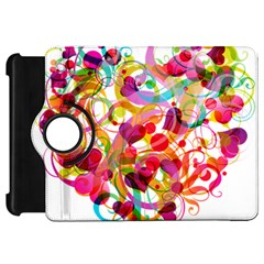 Abstract Colorful Heart Kindle Fire Hd 7  by BangZart