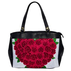 Floral Heart Office Handbags by BangZart