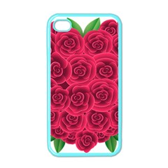 Floral Heart Apple Iphone 4 Case (color) by BangZart