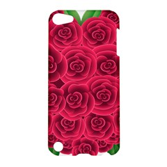 Floral Heart Apple Ipod Touch 5 Hardshell Case by BangZart