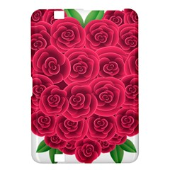 Floral Heart Kindle Fire Hd 8 9  by BangZart