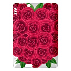 Floral Heart Kindle Fire Hdx Hardshell Case