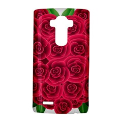Floral Heart Lg G4 Hardshell Case by BangZart